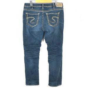 Silver Suki high straight jeans 34x32